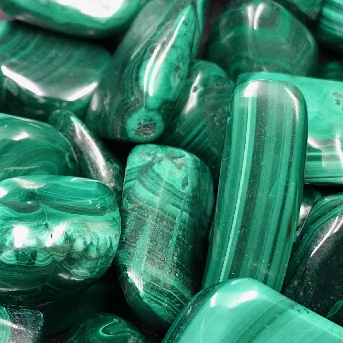 malachite-pierre-roulées