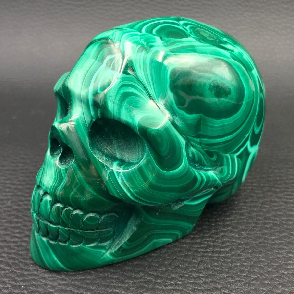 crâne-malachite
